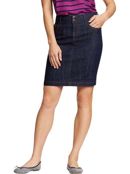 Denim Pencil Skirts 29.94 Old Navy