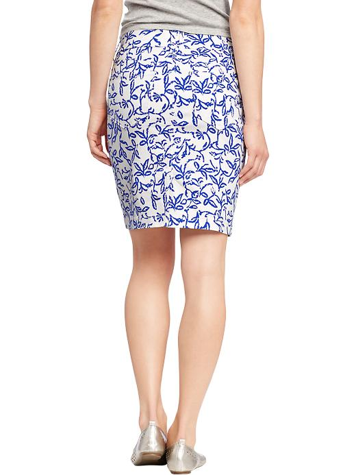 Denim Pencil Skirts printed 29.94 Old Navy