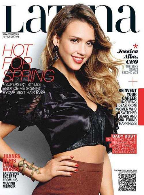 Jessica Alba for Latina April 2013