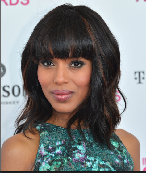 Kerry Washington bangs