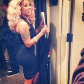 Dress of the Week: Keyshia Cole in Alexander Wang Suspension Fitted Tank Dress
