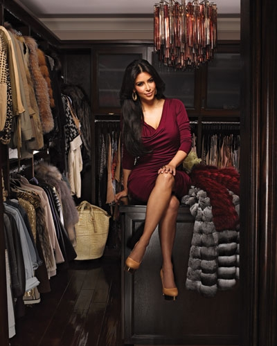 Inside Kim Kardashian&#8217;s Massive Closet + her Favorite Designers