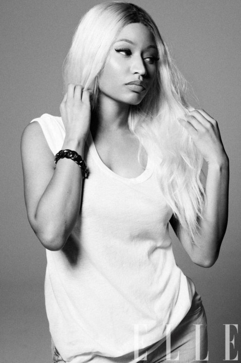 Nicki Minaj Elle April 2013