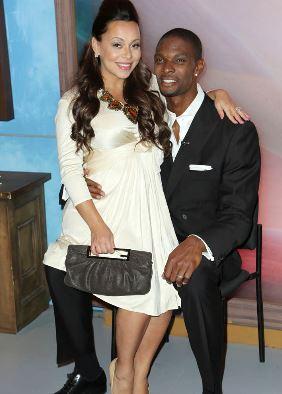 Chris Bosh and Wife