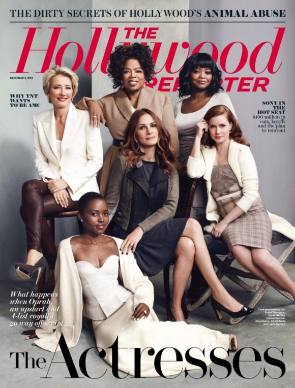 Hollywood Reporter cover with Oprah