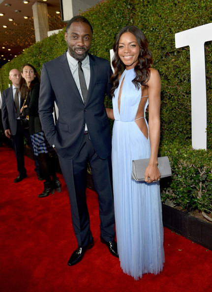 Idris Elba and Naomie Harris Mandela