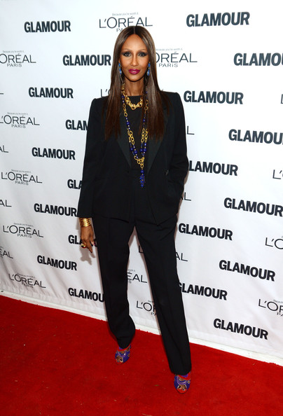 Iman at Glamour awards