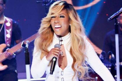 K Michelle on stage