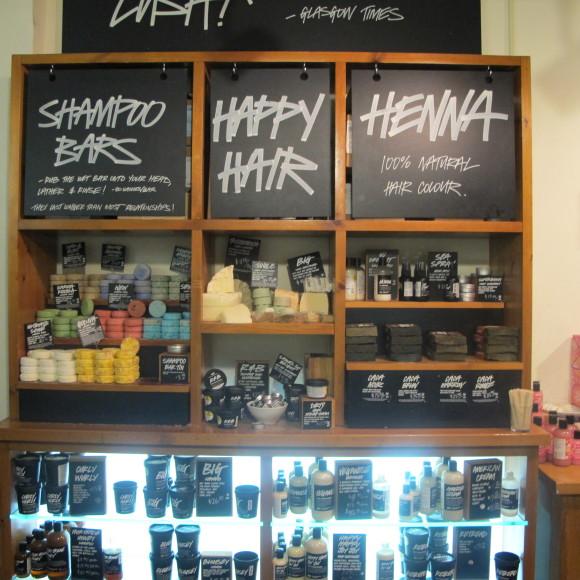LUSH Shampoo Bar