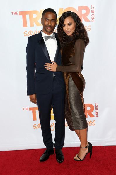 Big Sean and Naya Rivera Red carpet