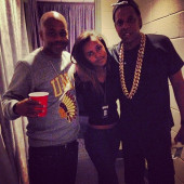 Nicki Minaj, Kelly Rowland and Dame Dash show support for Jay Z