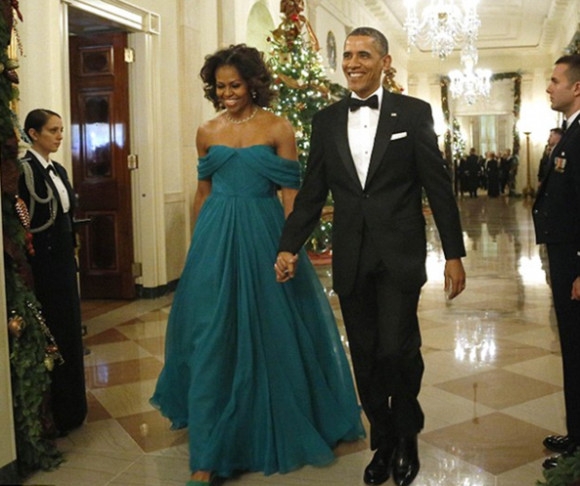 Michelle Obama looks FAB! at the Kennedy Center Honors