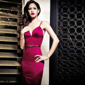 Rocsi Diaz gets 'modelicious' for 2013 Marciano holiday campaign