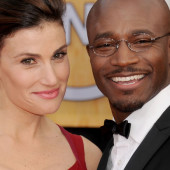It's a wrap! Taye Diggs and Idina Menzel seperate