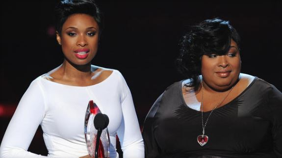 Jennifer Hudson and Julia Hudson