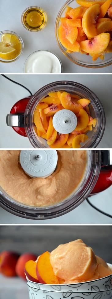 Peach sherbert