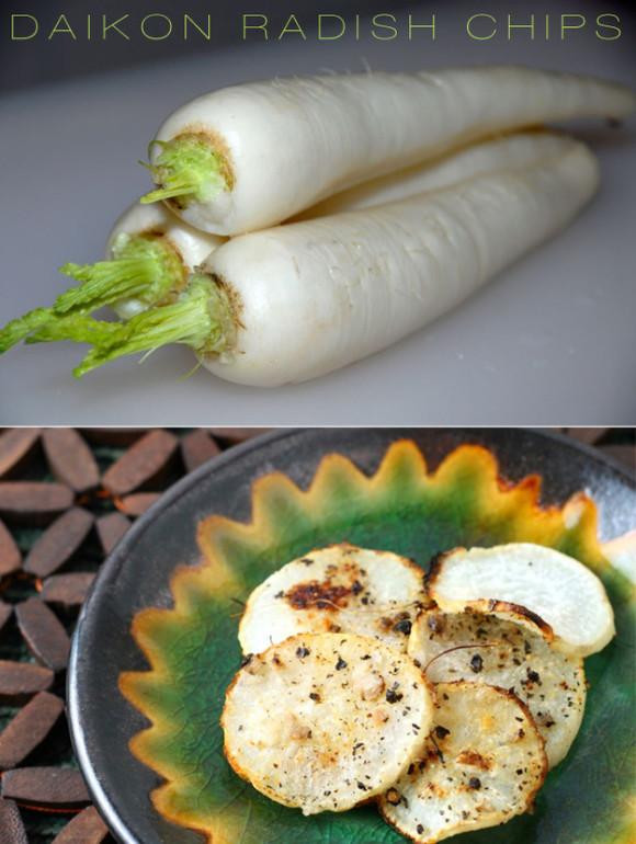Radish Chip Recipe