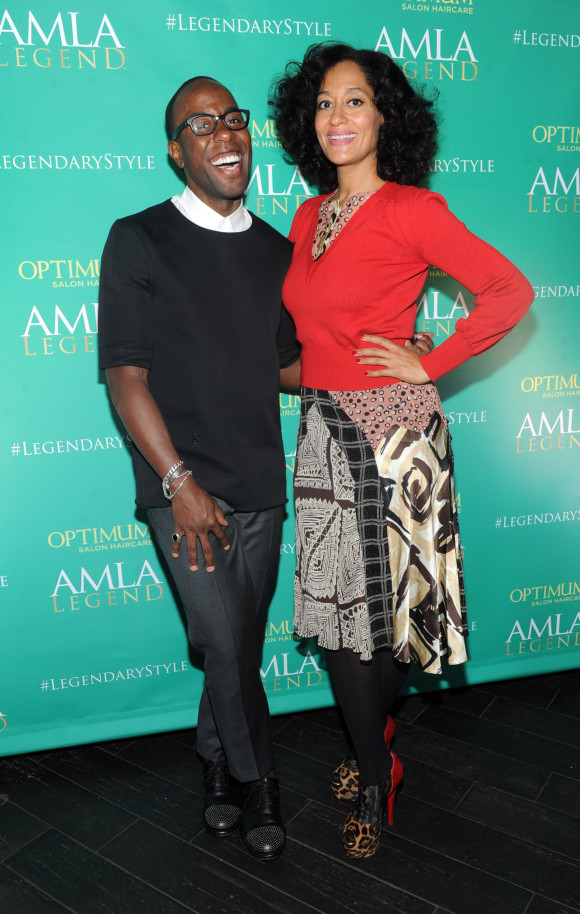Johnny Wright, SoftSheen-Carson Artistic Style Director & Tracee Ellis Ross
