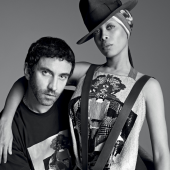 Erykah Badu and Riccardo Tisci discuss their Givenchy Collaboration