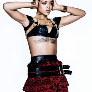 Saturday Style: Rihanna channels her inner tomboy for 'Vogue'