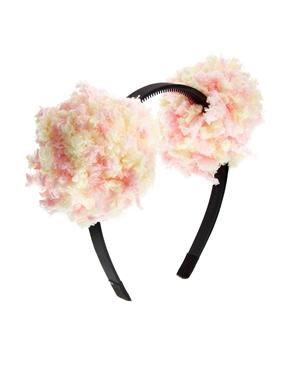 Limited Edition Pom Ears Hair band