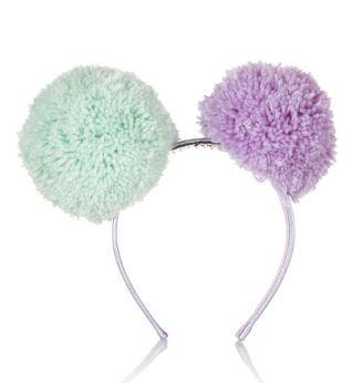 Piers Atkinson Pompom headband