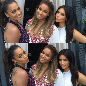 Ciara and Future's Beverly Hills baby shower brings out LaLa Anthony, Kim Kardashian and more