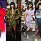 Rihanna's best overall looks at Paris Fashion Week
