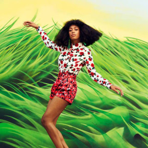 Solange Knowles for 'Harper's Bazaar'