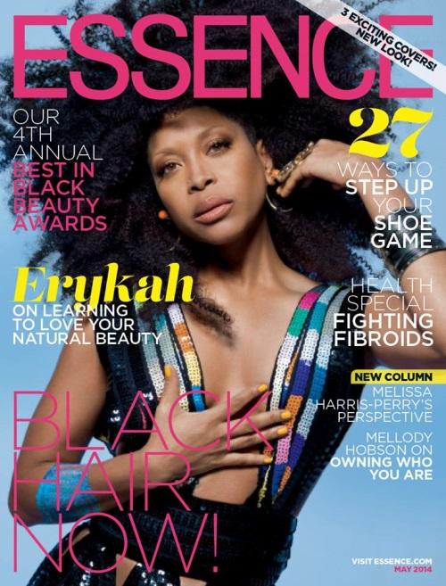 Erykah Badu cover Essence cover 2014