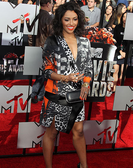 Kat Graham MYV Movie Awards 2014