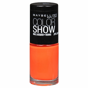 Maybelline Color Show Nail Polish in Orange Fix