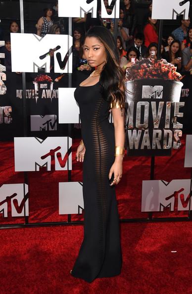 Nicki Minaj MTV Movie Awards 2014