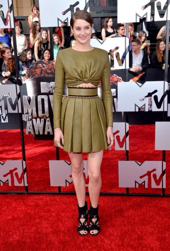 Shailene Woodley in Balmain