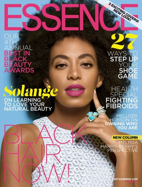 Solange cover of Essence 2014