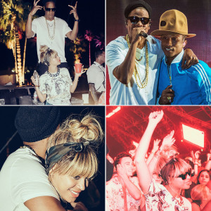 Jay Z and Beyoncé's Coachella festival fashion
