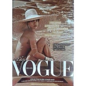 Sneak peek: Rihanna's 'VOGUE' Brasil cover