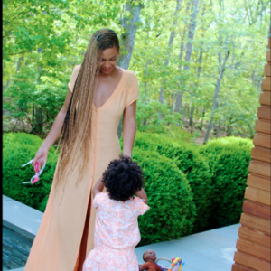 Beyonce and Blue Ivy in the Hamptons
