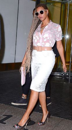 Beyonce in New york May 2014