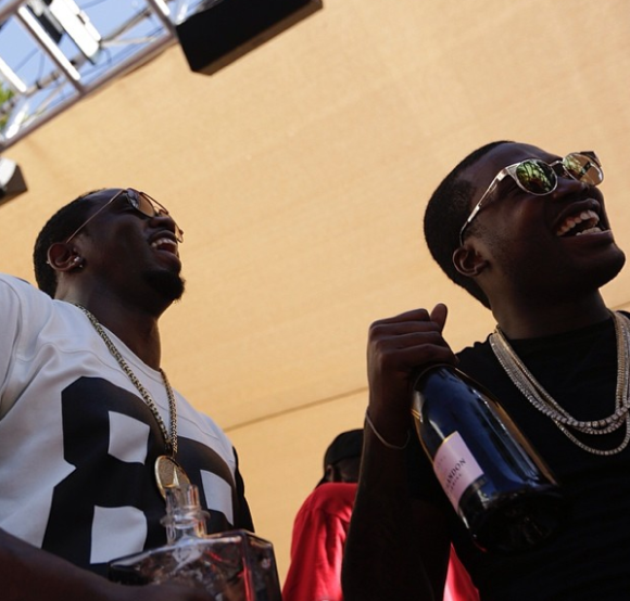 Diddy and Meek Millz