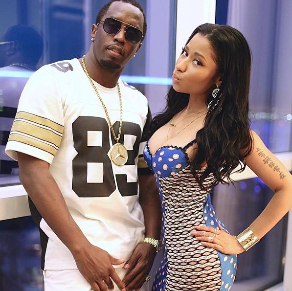 Diddy and Nicki Minaj