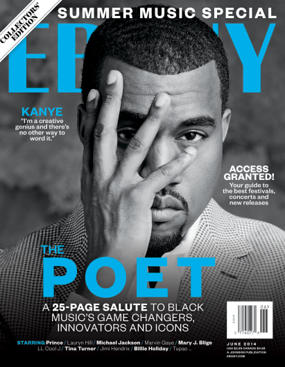 Kanye EBONY cover