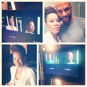 "Common stars in ""Because Of Her I Can"" Mother's Day Special"
