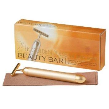 Beauty Bar 24k Golden Pulse Facial Massager Japan