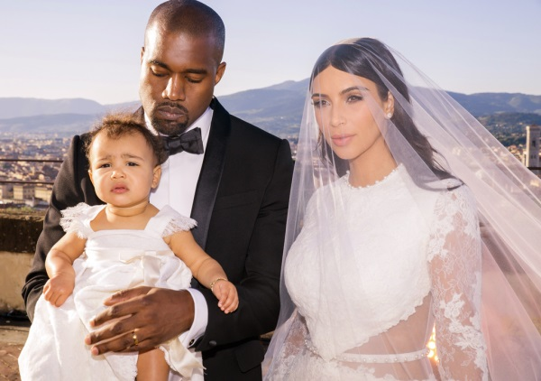 Kimye Wedding with Northwest