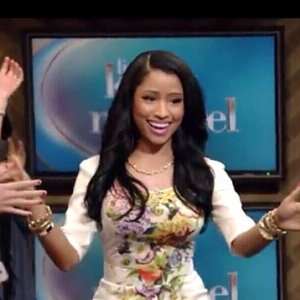 Video: Nicki Minaj guest stars on a daytime talk show