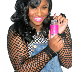 Reginae Carter is the new face of Hairfinity