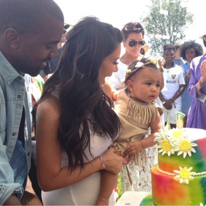 Baby North West's 'Kidchella' birthday bash