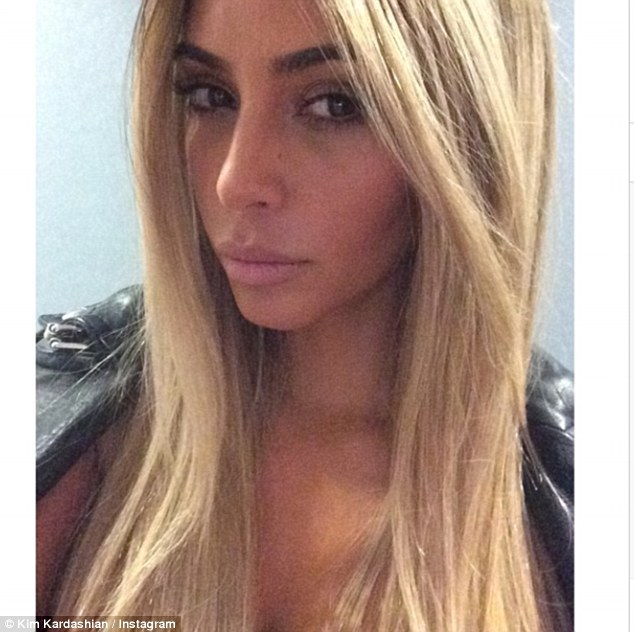 Kim Kardashian Blonde Wigtalking Pretty Talking Pretty