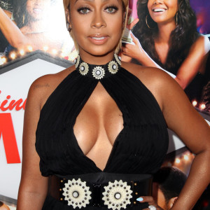 Do you love it? Lala Anthony in Alexander McQueen